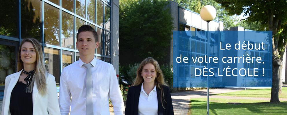 Campus Marne-la-Vallee affichage mobile