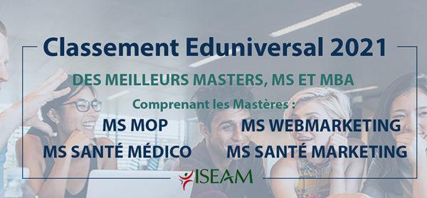 Eduniversal-MS-ISEAM-2021